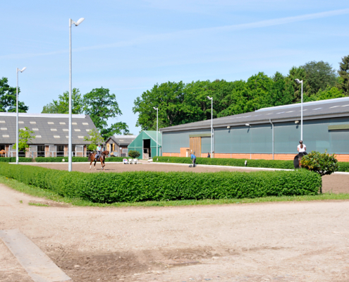 Dressurplatz auf dem Gut Schäferhof